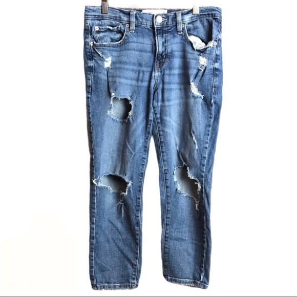 🔥Garage Ankle Straight Jean Distressed Size 3